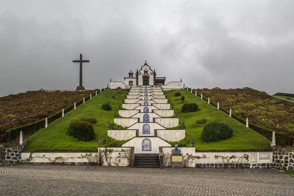 Wallfahrtskirche Ermida de Nossa Senhora da Paz in Vila Franca do Compo